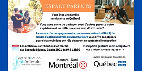 Vous êtes une famille  immigrante  au Québec? billets