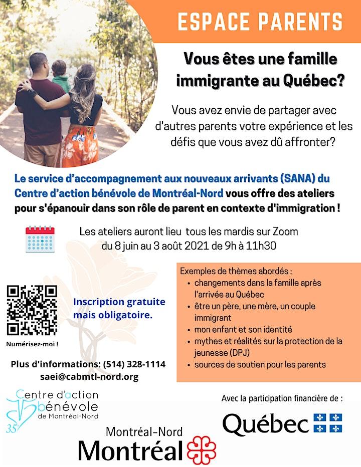 Image de Vous êtes une famille  immigrante  au Québec?