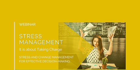 Stress Management: How to manage stress like an ace in any situation. tickets