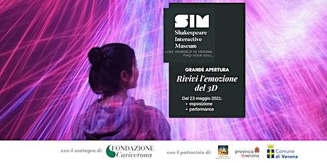 Shakespeare Interactive Museum - MAGGIO / GIUGNO 2021 biglietti