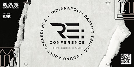 RE: Conference tickets