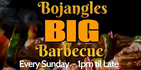 Your Big Sunday Barbeque in Chingford – Dine in at Bojangles this May tickets