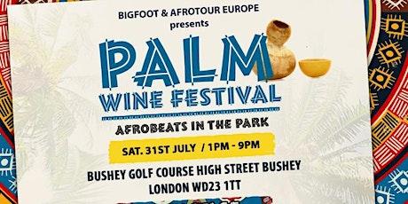 Palmwine Festival tickets
