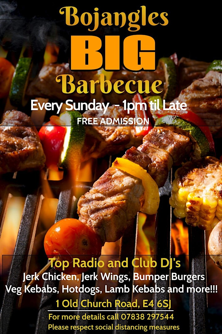 Your Big Sunday Barbeque in Chingford – Dine in at Bojangles this May image