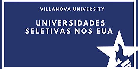 Universidades seletivas nos EUA com Villanova University entradas