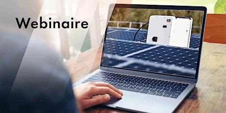 WEBINAIRE : CORE1, la solution pour les installations PV commerciales billets