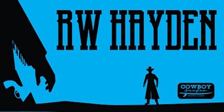 Live Music by RW Hayden tickets