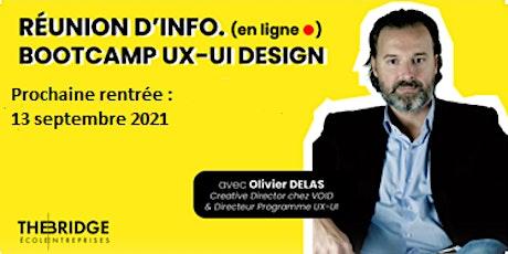 Bootcamp UX-UI DESIGN : Réunion d'information en ligne - The BRIDGE billets