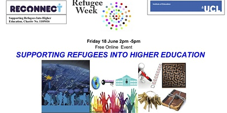 ReConnect - Supporting Refugees into Higher Education tickets