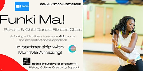 Funki Ma! Online Parent and Child Dance Fitness Class tickets