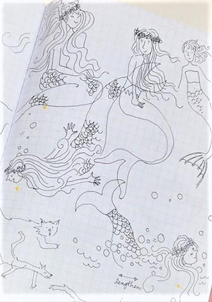 """""""Summer Under The Sea"""", Creative Writing and Drawing Workshop! image"""