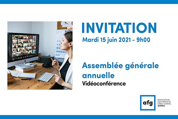 Image de Assemblée générale annuelle (AGA) 2021 - Vidéoconférence