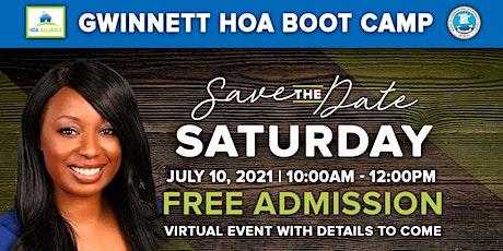 2021 Gwinnett County HOA Boot Camp tickets