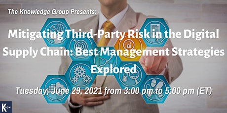 Mitigating Third-Party Risk in the Digital Supply Chain: Best Management tickets