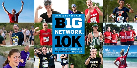 Virtual Big 10K tickets