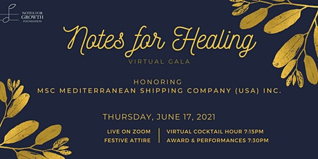 Notes for Healing Virtual Spring Gala tickets