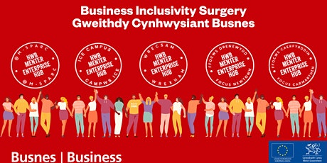 Business Inclusivity Surgery / Gweithdy Cynhwysiant Busnes tickets