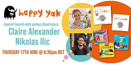 Welcome to Happy Yak! With Claire Alexander & Nikolas Ilic tickets