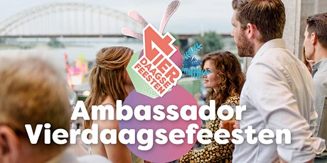 Stadswandeling Ambassadorsclub Vierdaagsefeesten(18-6-2021) tickets