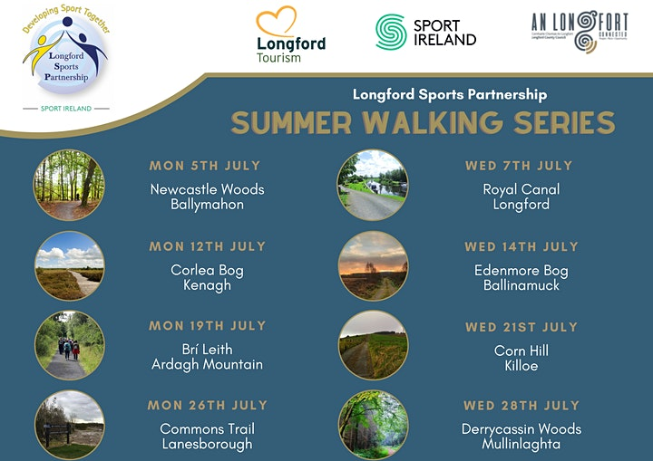 Longford Summer Walk Series 2021 image
