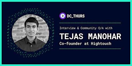 DC_THURS on Reverse ETL w/ Tejas Manohar (Hightouch) tickets