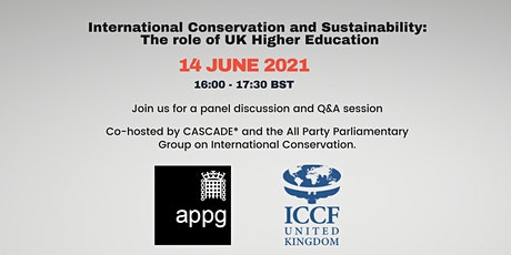 International Conservation & Sustainability: Role of UK Higher Education tickets