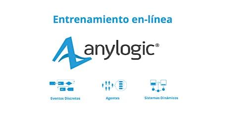 Entrenamiento en línea: AnyLogic - 09 al 12 de agosto de 2021 ingressos