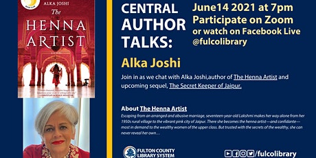 Central Author Talks with Alka Joshi tickets