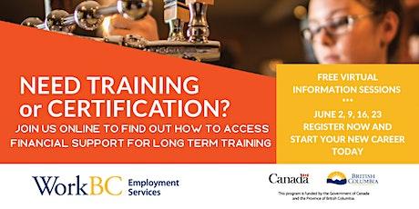Skills Enhancements Training Information Sessions tickets