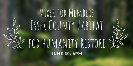 Mixer for Members (And Friends) at Habitat for Humanity ReStore tickets