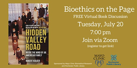 Bioethics on the Page: Hidden Valley Road  a virtual book discussion tickets