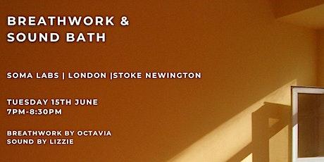 Breathwork & Sound Bath tickets