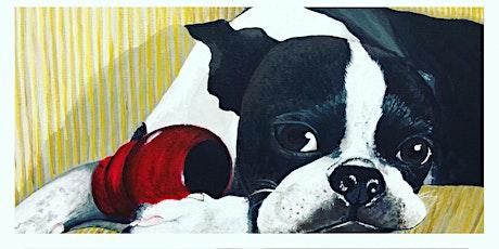 Pet Portrait Paint Class @ Methven Family vineyards Estate in Dayton OR tickets