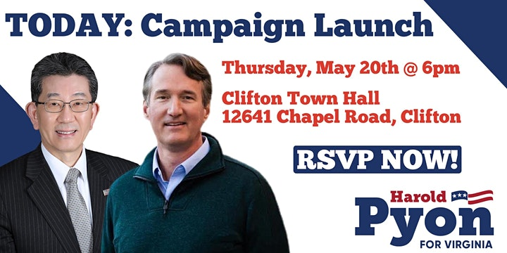 Harold Pyon for Delegate Campaign Launch image