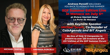 SGF Summer Edition Live  in Monaco on July 5th billets