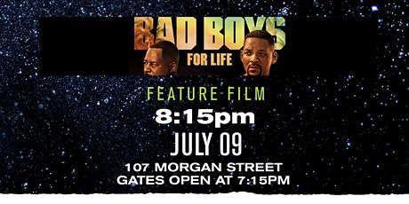 Bad Boys 3: Drive-In Movie Night Series tickets
