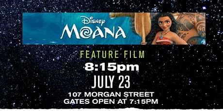 Moana: Drive-In Movie Night Series tickets