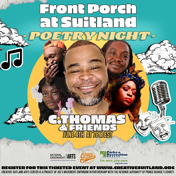 Front Porch at Suitland: POETRY NIGHT! image