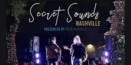 Secret Sounds   Live Music + Wine Tasting (Jamie Kent + friends) tickets
