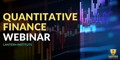 Quantitative Finance Information Webinar