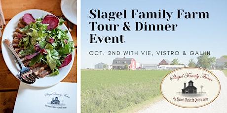 Slagel Family Farm  Tour & Dinner Event with Paul Virant tickets