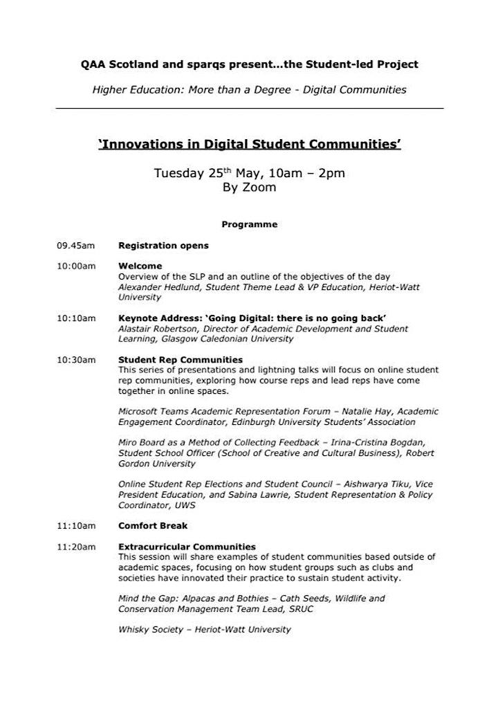 Innovations in Digital Student Communities image