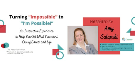 Time to Make a Change- Turning the Impossible into Possible tickets