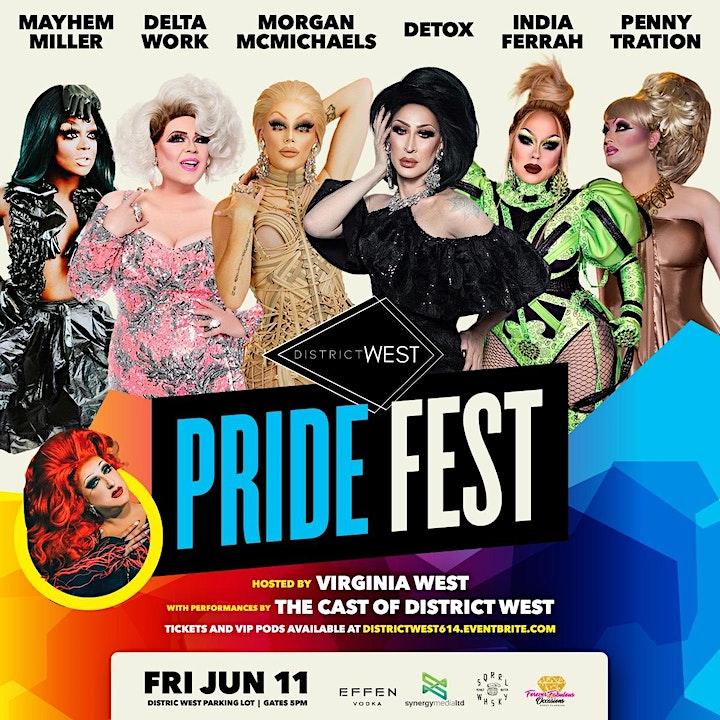 District West Pride Fest Friday, June 11 image