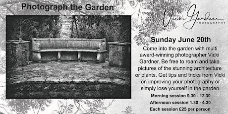 Photograph The Garden tickets