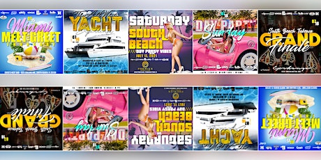 MIAMI SOUTH BEACH TAKEOVER // GLOBAL QUAN'S BDAY WKND tickets