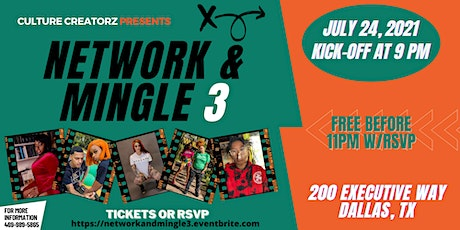 3rd Annual Network & Mingle tickets