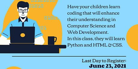Virtual STEM Camp, Coding For Kids 102 tickets
