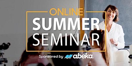 Summer Seminar 2021 tickets