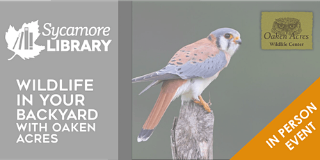 Getting to Know the Wildlife in Your Backyard (with Oaken Acres) tickets